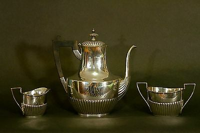 Antiique Gorham Sterling 3 piece Coffee or Tea Set
