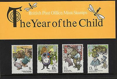 GB: QEII :1979 International Year of the Child Presentation Pack 110