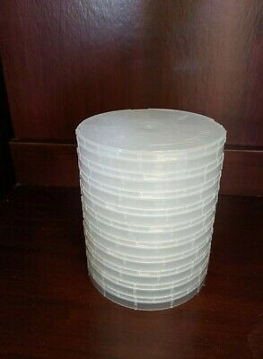 "4"" Single Wafer Carrier Box - including Container, Cover & Spring - 10set/pck"