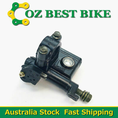 Front Left Hydraulic Brake Master Cylinder 10mm Banjo ATV Quad Pit Pro Dirt Bike