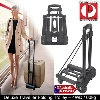SHOPPING TRAVEL BOAT Folding FOLDABLE Luggage Hand Trolley Truck Lightweight