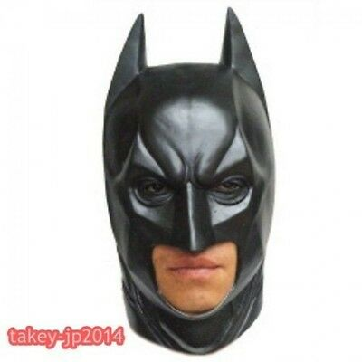 Dark Knight Rises Batman Full Face Mask From  Made in Japan F/S