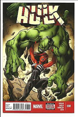 Hulk # 8 (Jan 2015), Nm New