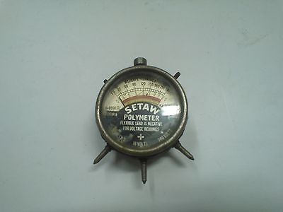 Used SETAW Polymeter 8 16 240 Volt Ohms Electrical Test Meter