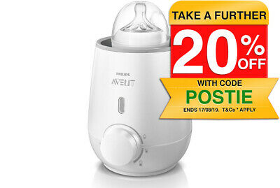 SCF355 Philips Avent Electric Fast Bottle Warmer For Baby/Newborn/Infant/Toddler