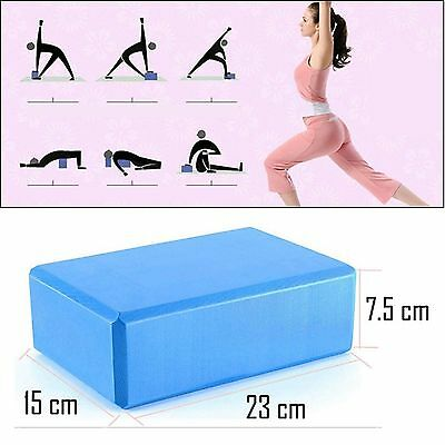 Hot Yoga Block Brick Foaming Foam Home Exercise Practice Fitness Tool HS