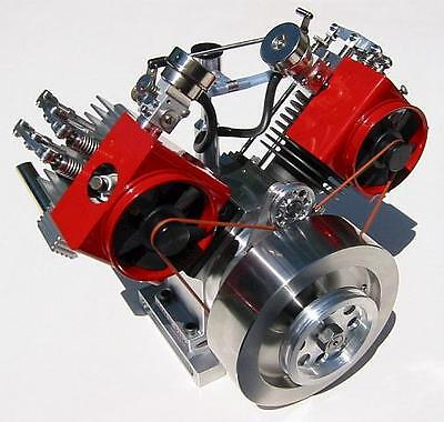 Howell V-Twin 4-Cycle Gas Engine Plans PDF