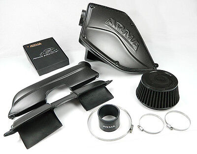 ARMA Carbon Matt airbox air intake kit for BMW 3-E90 325i N52 engine