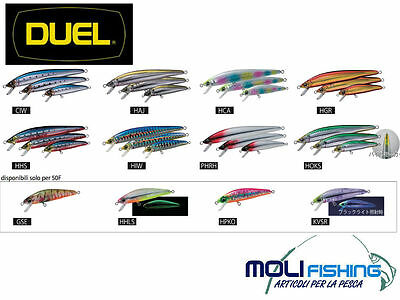 Artificiale Pesca Spinning Duel Hardcore Minnow 70 Floating -Tutti I Colori-F918