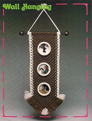 Picture Wall Hanging Pattern Craft Book: #15915 Macrame for Ages 8 and Up Vol. 3