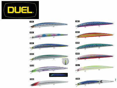 Artificiale Minnow Spinning Duel Hardcore 170F - Floating - Pesca Spigola Serra
