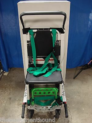 Stryker 6253 Evacuation Chair With Storage Cabinet And Alarm