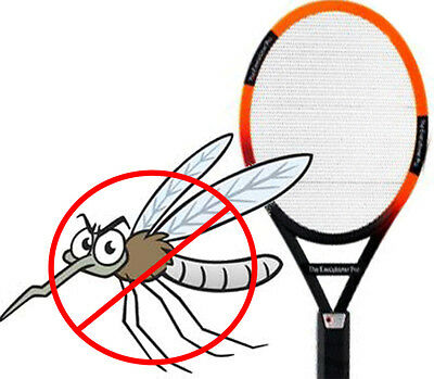 Mosquito Killer Electric Zapper Fly Swatter Bug Wasp Insect Executioner Racket