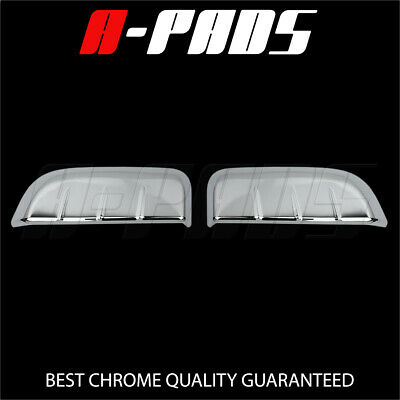 FOR NISSAN 05-08 09 10 11 12 PATHFINDER CHROME 4 DOORS HANDLES COVERS W//O P Key