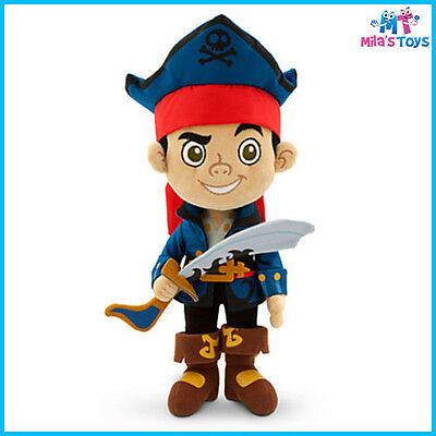 "Disney Jake and the Never Land Pirates Captain Jake 12"" Plush Doll Toy brand new"