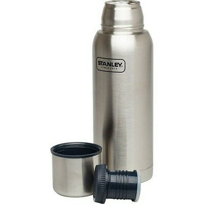 Stanley Adventure 1L Vacuum Insulated Thermos Flask Stainless - Hot / Cold 24hr