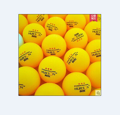 100pcs 3-Star 40mm Olympic Table Tennis Ball Pingpong Balls Orange free shipping