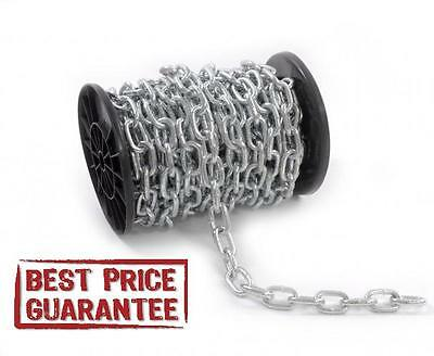 HEAVY DUTY GALVANIZED STEEL CHAIN mm 3 4 5 6 8 10 12mm short link BEST PRICE