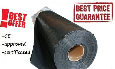 DAMP PROOF MEMBRANE 1000G 200mu 5M💯🛠 WIDTH DPM HD TARPAULIN  WATERPROOF COVER