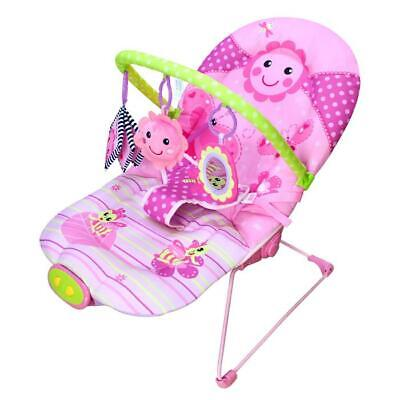 Dancing Flower Musical Vibrating Baby Activity Play Bouncer