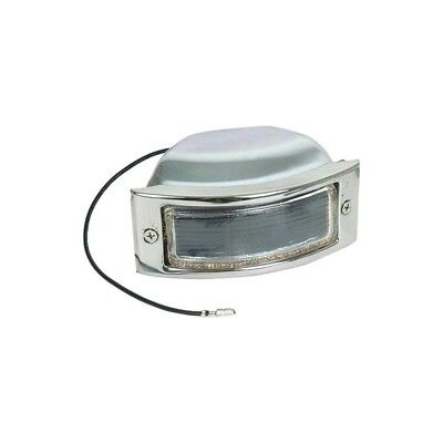 Ford Pickup Truck Parking Light Assembly - Polished Stainless Steel Rim - F1