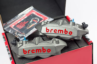 BREMBO M4 108mm Forged Radial Monoblock Calipers inc Brake Pads - 220A39710