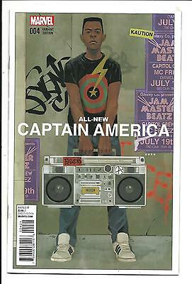 All New Captain America # 4 (Noto Variant, Apr 2015) Nm New