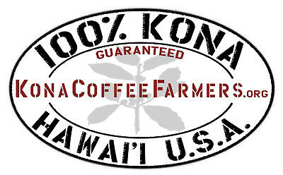 Hawaiian Kona Coffee Beans 100% Authentic Fresh Roasted Whole Beans 7 / 1LB Bags