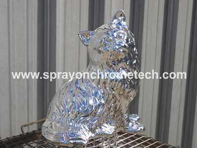 Mini Spray On Chrome System Spray Gun Spray Metal Plating