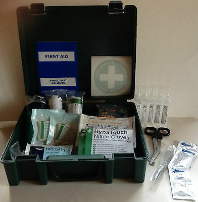 Chimney Sweep & Builders First Aid Kit - Complies With Bsi & Apics Regulations
