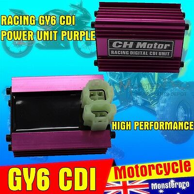 CDI 6 Pin Ignition Performance Racing GY6 50cc - 150cc ATV Go Kart Moped Scooter
