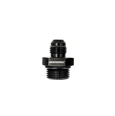 BOOSTEC ORB-8 O-ring Boss AN8 8AN  to AN6 6AN  Male Adapter Fitting Black