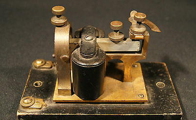 C.1910 Western Electric Morse Code Sounder 3B 20 Ohms Made In The U.s.a. Gd Cond