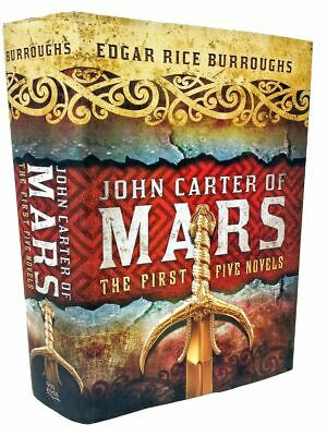 John Carter A Princess of Mars Series Omnibus Collection by Edgar Rice Burroughs