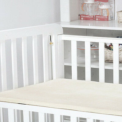 """Natural Latex Topper for Crib - 2"""" and VARIETY OF SIZES   Organic Textiles"""