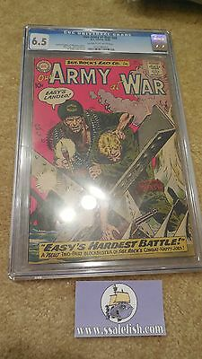 Our Army at War 99 1961 CGC 6.5 Sgt. Rock Joe Kubert cover & art DC silver age