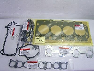 SORENTO 06-09 GeNuiNe ENGINE OVERHAUL GASKET KIT K0AH610270
