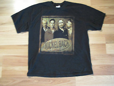 Used Nickelback Silver Side Up 2001 Tour Concert T-Shirt Adult Xl