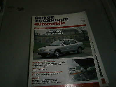 RTA revue technique auto n° 560 Ford mondeo 4 cylindres essence