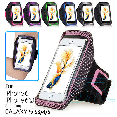 """Arm Strap Pouch Case Jogging Running Holder Armband For Apple iPhone 6S 6 4.7"""""""