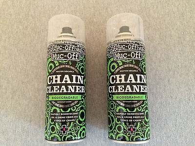 2 x MUC-OFF Bicycle Chain Cleaner 400ml