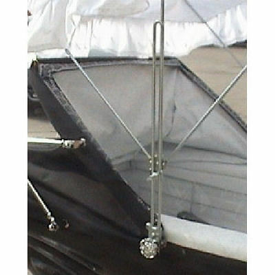 2 X TRADITIONAL - Sun Canopy - HEIGHT EXTENSIONS 4 Silver Cross Coach Built Pram