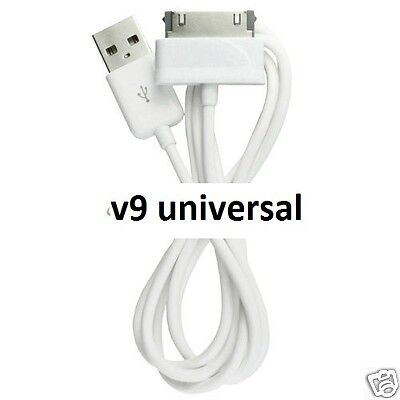 """USB Cable Lead Sync Charger Cord For Samsung Galaxy Tab 2 Tablet 7"""" 8.9"""" 10.1"""""""