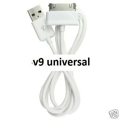 "USB Cable Lead Sync Charger Cord For Samsung Galaxy Tab 2 Tablet 7"" 8.9"" 10.1"""