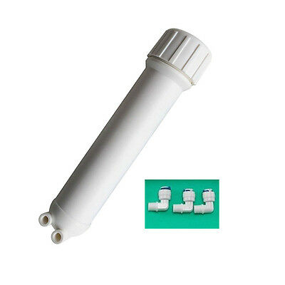 REVERSE OSMOSIS MEMBRANE HOUSING FITS ALL STANDARD RO System Water Filter 3Elbo