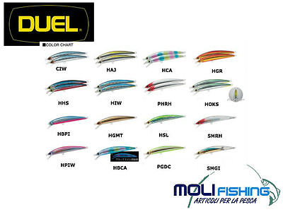 Artificiale Pesca Spinning Duel Hardcore Minnow Power 120F - Floating - Spigola