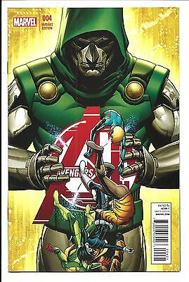 Avengers A.i. # 4 (Marvel Now, Mckone 1:50 Variant Cover, Dec 2013), Nm
