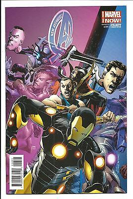 New Avengers # 16.Now (Rags Morales 1:50 Variant Cover, May 2014), Nm New