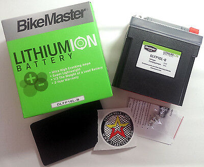 Lightweight Lithium Powersports Battery for 83-85 Yamaha XC180 Riva Apps.