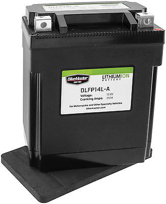 Lightweight Lithium Powersports Battery for 81-82 Honda GL500 Silver Wing Apps.
